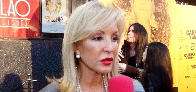 Piden a la Fiscalía que cite a declarar a Carmen Lomana por el caso de los 'bebés robados'