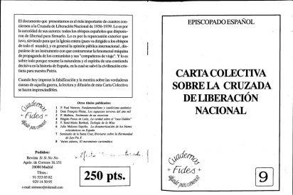 El Vaticano y la carta colectiva del episcopado español