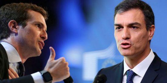 Moncloa anuncia que Sánchez da por rotas las relaciones con Casado tras la acusación de golpista