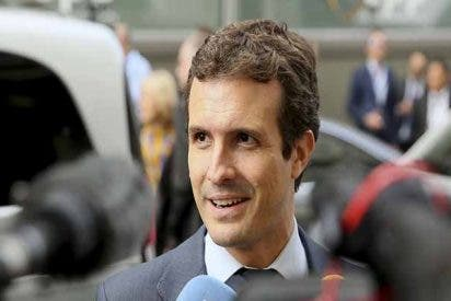 Pablo Casado advierte a Sánchez e Iglesias de que en España no puede mandar un preso