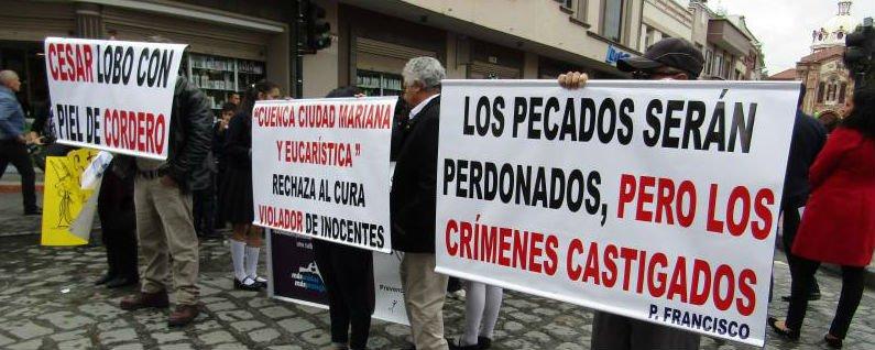 El Papa expulsa del sacerdocio a César Cordero, el 'Karadima de Ecuador'