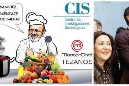 """La """"basura"""" del 'MasterCIS"""" de Tezanos: ¿De verdad que Sánchez saca 13 puntos a Casado y Ciudadanos 'sorpassa' al PP?"""