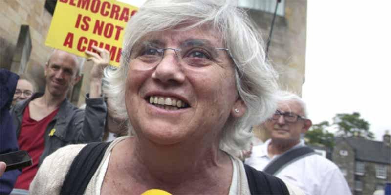 """Clara Ponsatí, exconsellera catalana huida a Escocia, se cae del guindo: """"La declaración de independencia fue un brindis al sol"""""""