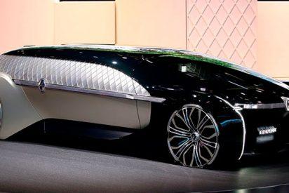 Descubre el coche-robot con carrocería luminosa y ocupantes 'invisibles'