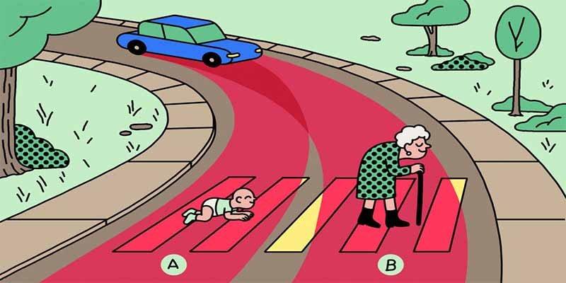 ¿Mataría el coche sin conductor al bebé o a la abuela? Pues depende de dónde seas