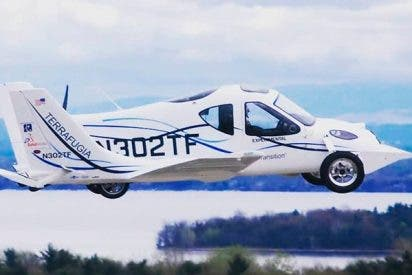 Descubre el espectacular coche volador de Terrafugia ¡ya se puede reservar!