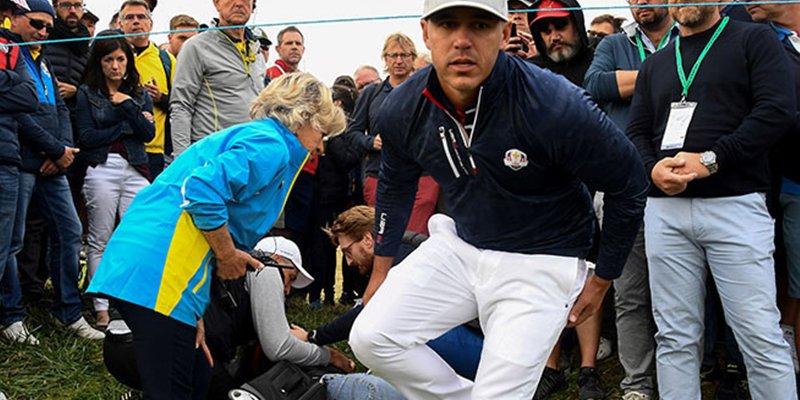 Mujer pierde un ojo por el impacto de una pelota de golf durante la Copa Ryder