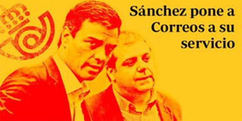 Gobierno Sánchez: Nepotismo indecente en correos