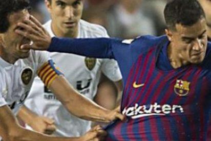 Soria defiende que lo de Coutinho a Dani parejo fue solo un roce en la cara