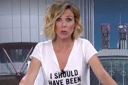 Esta es la presentadora de informativos de Antena3 que debería haber sido un cowboy con sombrero y pistola