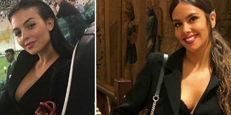Cristina Pedroche se copia de Georgina Rodríguez: mismo look, misma pose y mismo país