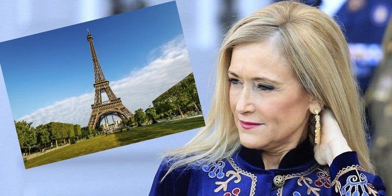 Cristina Cifuentes 'se pira' a París donde ha pillado un trabajo de lujo
