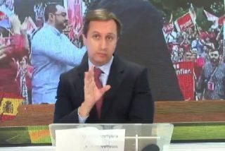 Carlos Cuesta, en pie de guerra contra los sediciosos y la pasividad de Sánchez