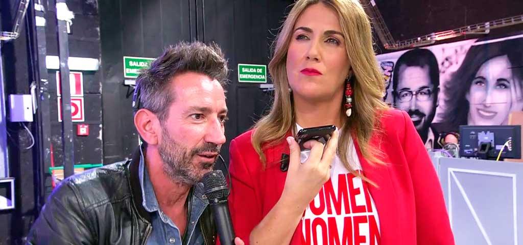 """Carlos Lozano arremete contra el director de 'Sálvame': """"Estáis jugando con mis sentimientos"""""""
