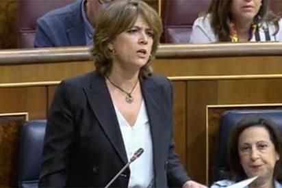 El 'via crucis' de Lola Delgado: la bancada 'popular' le pinta la cara y ella se agarra el 'comodín Bárcenas' para no dimitir
