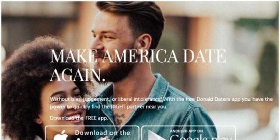 Hackean 'Donald Daters', la app de citas para los fans de Trump