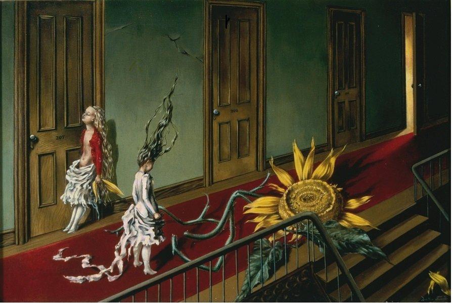 Dorothea entre dos puertas