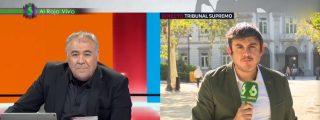 La vergonzosa pillada de Ferreras a un reportero de 'Al Rojo Vivo' en directo