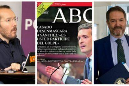 """El liberticida Echenique se la tiene jurada al ABC y ahora le acusa de ejercer un periodismo """"incendiario"""""""