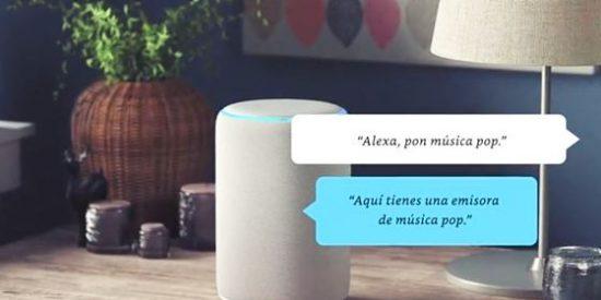 """Amazon presenta """"Echo"""" la familia de altavoces inteligentes con Alexa (control de voz)"""
