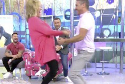 El absurdo 'Baile del gusano', que empezó como una en 'GH VIP' y ahora revoluciona 'Sálvame'