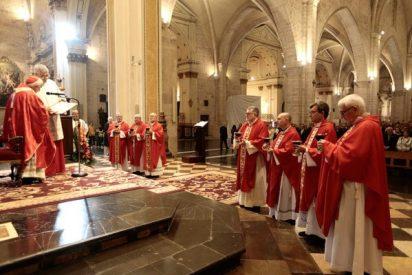 """Cañizares resalta en la fiesta del Santo Cáliz """"la dicha de tener en Valencia la misma copa que tomó Jesucristo"""""""