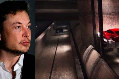 ¡Impresionante! Elon Musk anuncia la apertura de un túnel futurista bajo Los Ángeles