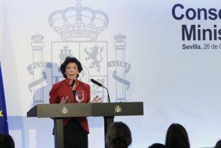 Celáa apunta a que las inmatriculaciones centrarán el encuentro entre Carmen Calvo y Parolin