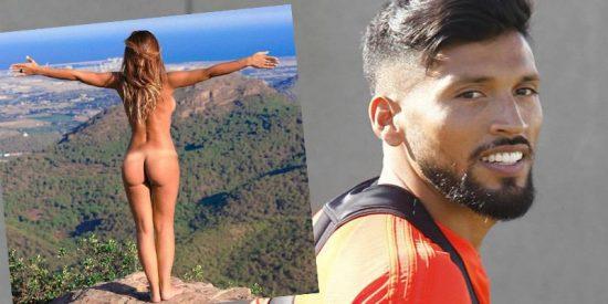Así fue la reacción de Ezequiel Garay al ver el desnudo integral de su mujer en las redes