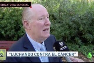 La emoción de Gay de Liébana, enfermo de cáncer, con la dedicatoria de 'su' Español