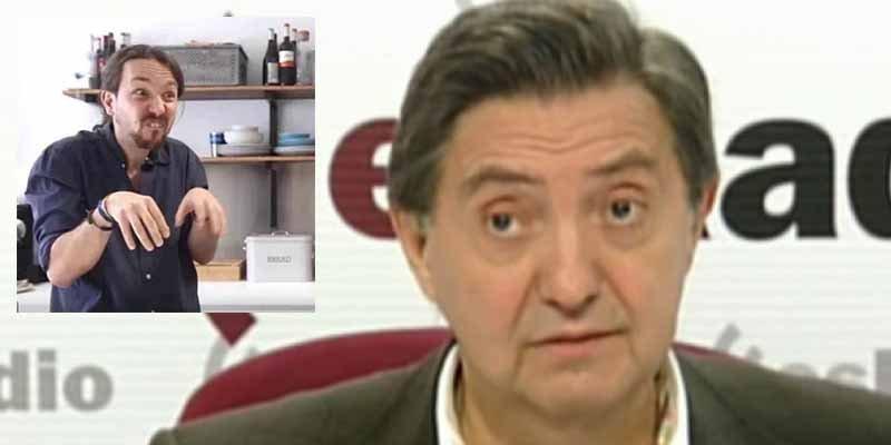 Jiménez Losantos sacude a los separatas, desnuda a Pablo Iglesias y acojona a los de Podemos