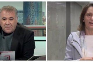 La cara de terror de Carolina Bescansa cuando Ferreras le pregunta si ella iría a la cárcel a negociar los PGE con Junqueras