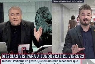 """García Ferreras: """"Me dejaré la piel porque los independentistas sigan teniendo presencia en laSexta"""""""