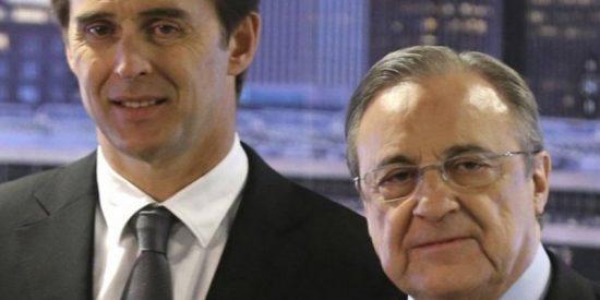 La paciencia de Florentino con Lopetegui se está acabando