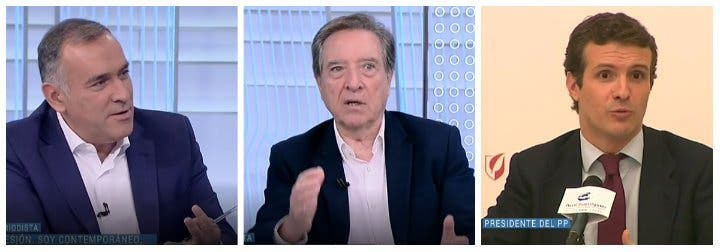 """'El Lechero' Fortes 'empuja' a Iñaki Gabilondo a burlarse de Pablo Casado: """"Ahora se cree Cánovas del Castillo"""""""