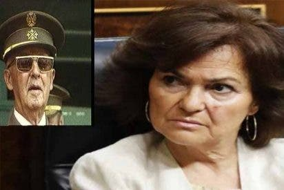 Carmen Calvo admite que no puede negociar con el Vaticano por el traslado de Franco a La Almudena