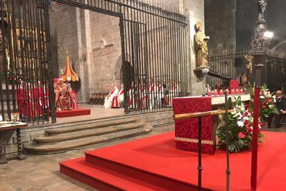 """El obispo de Girona recuerda a """"los que están privados de libertad o lejos del país debido al procés"""""""