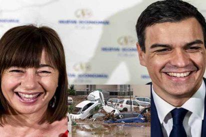La socialista Armengol y su Govern se fueron de juerga cuando ya moría gente en la riada