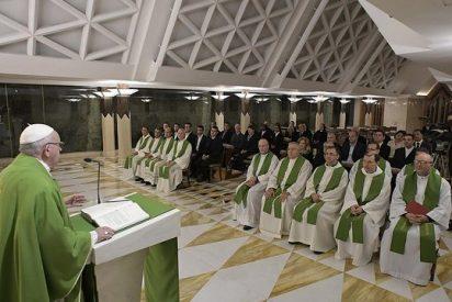 """Francisco: """"Reconocerse pecadores es el primer paso para conocer a Jesús"""""""