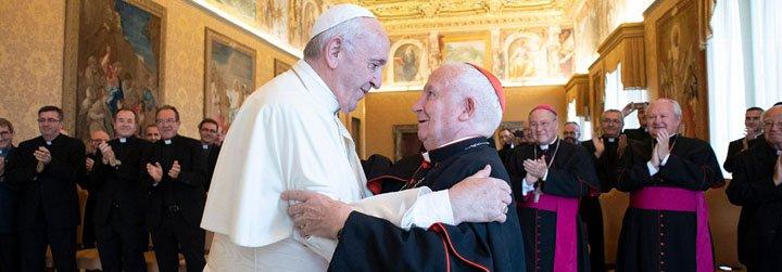 """Cañizares rezará un solemne Rosario este sábado en la Basílica """"por la Iglesia"""" ante la petición del Papa Francisco"""