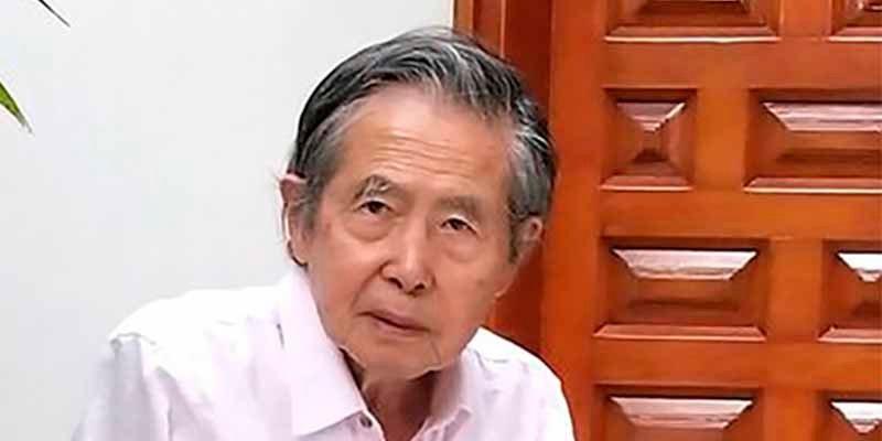 La orden de captura manda a Alberto Fujimori a una clínica de Lima