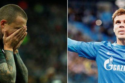 Detienen a estos 2 futbolistas rusos acusados de atacar a un funcionario