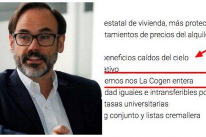 """""""La cogen entera"""": el 'copia y pega' de Garea le deja con el culo al aire en EFE y cae como una bomba en el PSOE"""