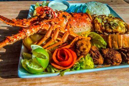 Disfrutando la sabrosa gastronomía de Belice