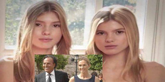 Victoria y Cristina, las hijas gemelas de Julio Iglesias, llevan 11 años 'robándole' ropa a su madre