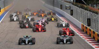 Hamilton gana el Gran Premio de Rusia de Fórmula 1