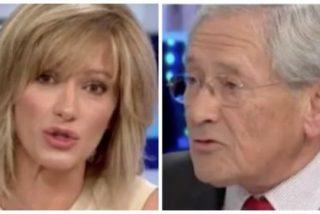 """No es la TV3, es Atresmedia: Griso confiesa estar a favor de imponer el catalán y Ónega pide no considerar al español la lengua """"superior"""""""