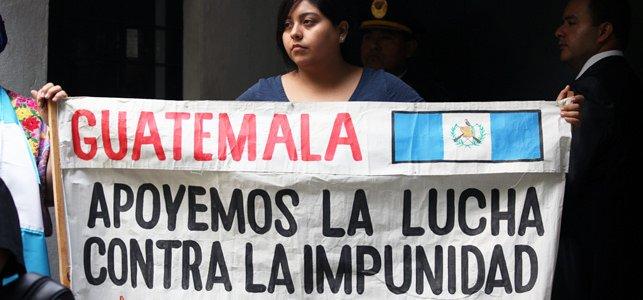 """Los obispos luchan contra """"la corrupción y la impunidad"""" en Guatemala"""