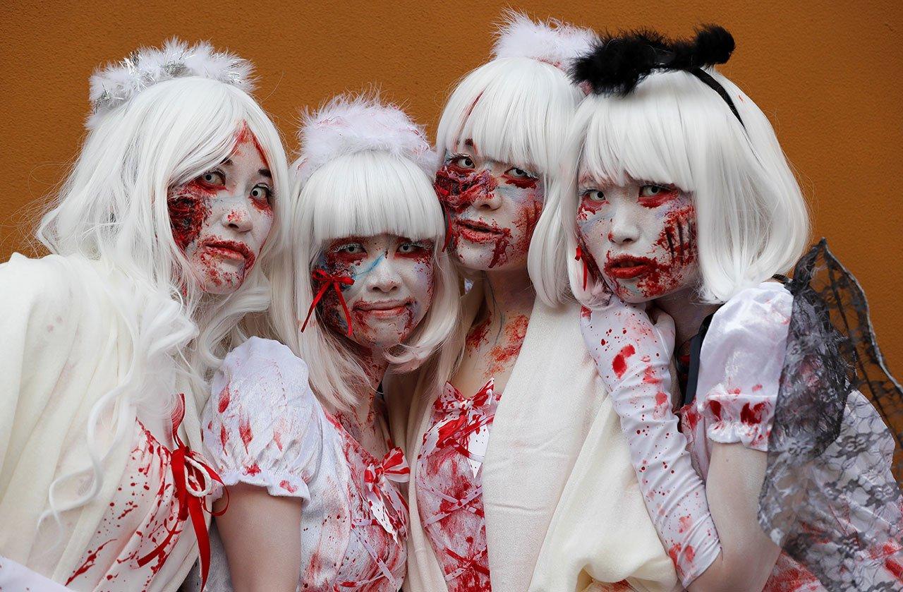 Así se celebra el Halloween en Japón