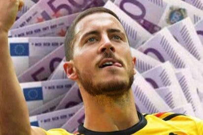 ¿Sabías que Hazard perdería dinero si fichara por el Real Madrid?